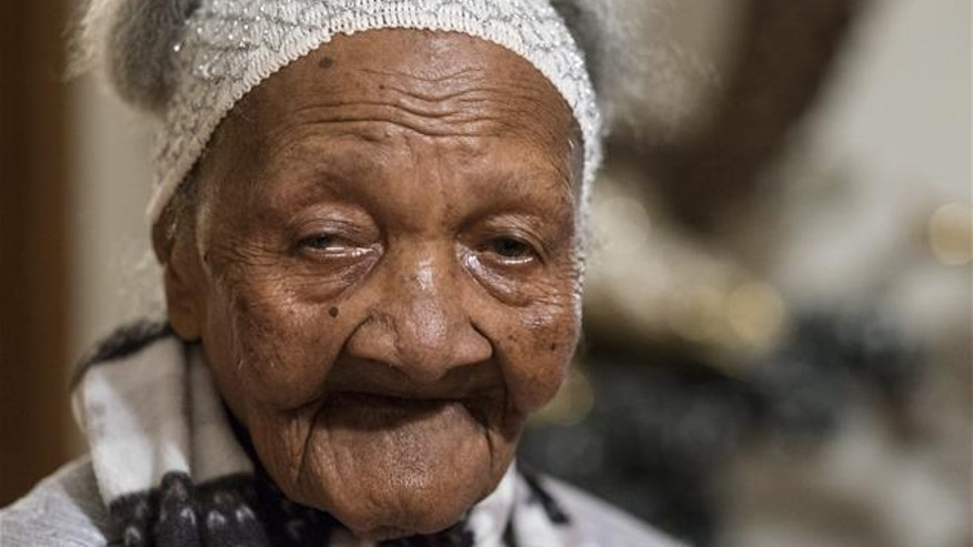 Cecilia Laurent is seen in her home Feb. 1, 2016, in Laval, Quebec. She died in May at the reported age of 120.