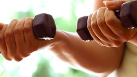 dumbell exercise istock