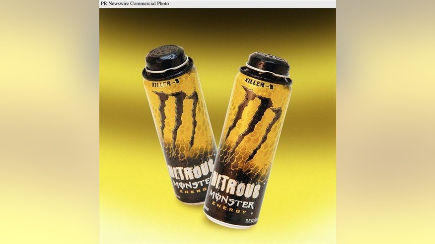 Nitrous Monster, the first energy drink with nitrous oxide, launched in new re-sealable 12 oz. cans. The patient was consuming two Monster energy drinks daily.