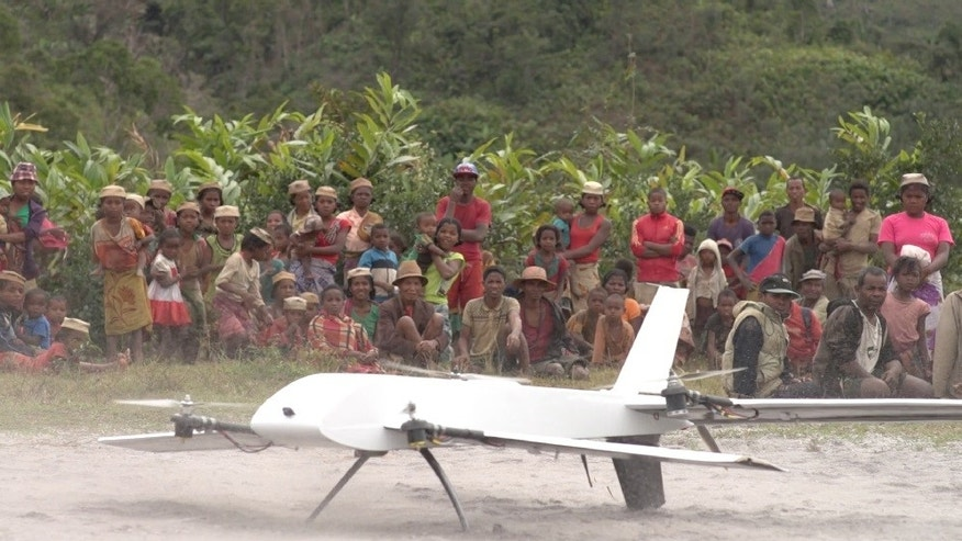 The unique ability of Vayu's drone to take off and land like a helicopter and fly long distances could help innumerable vulnerable remote communities get the medical care they deserve, says Stony Brook University Hospital. (image courtesy Stony Brook University Hospital)