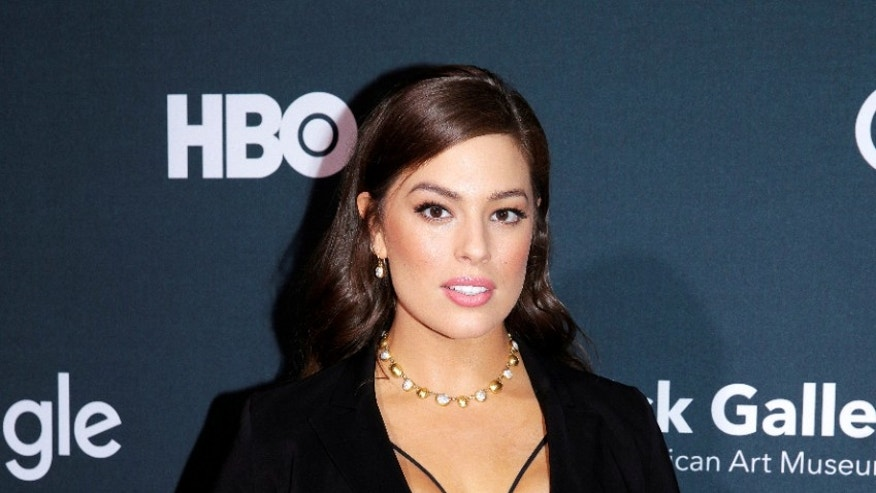 "Model Ashley Graham arrives at the Google, HBO and the Smithsonian's American Art Museum ""Celebration of Creativity"" cocktail party to celebrate the White House Correspondents' Association dinner weekend in Washington, U.S., April 29, 2016. Graham, who may be best known for her work as a model at Lane Bryant, became the first plus-size model to be featured on the cover of Sports Illustrated magazine earlier this year."