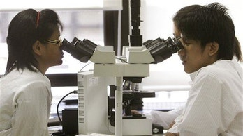 File photo of student medical technologists.