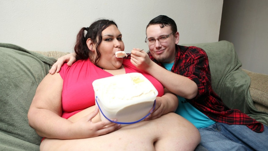 Monica Riley is aiming to become the world's fattest woman.