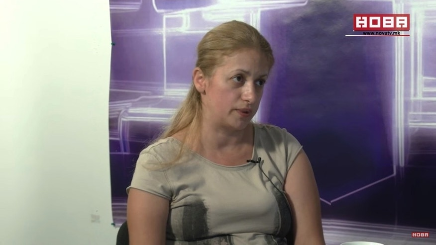Jasminka Velkovska is speaking out about the botched procedure to put pressure on the Macedonia hospital, which promised her more than $33,000 as compensation for a botched surgery that involved tying her genitals to her colon.