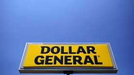 A sign is seen outside a Dollar General store in Chicago, Illinois, U.S. May 23, 2016.   REUTERS/Jim Young - RTSFWBZ