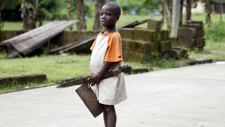The Wider Image: Tensions in the Niger Delta