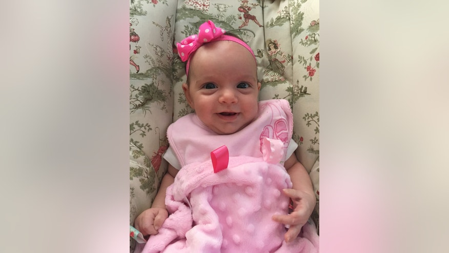 Pictured: Lynlee Hope Boemer who was operated on at 23 weeks gestation. WARNING: GRAPHIC IMAGES - The following photos of Lynlee Hope during surgery may be graphic for some viewers.