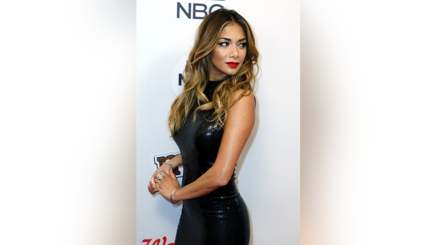 Singer Nicole Scherzinger attends the Red Nose Charity event in New York May 21, 2015.