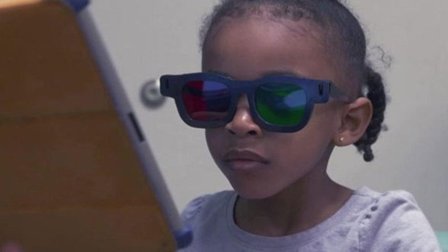A new ipad game may help treat lazy eye in kids. The game requires kids to wear special glasses.