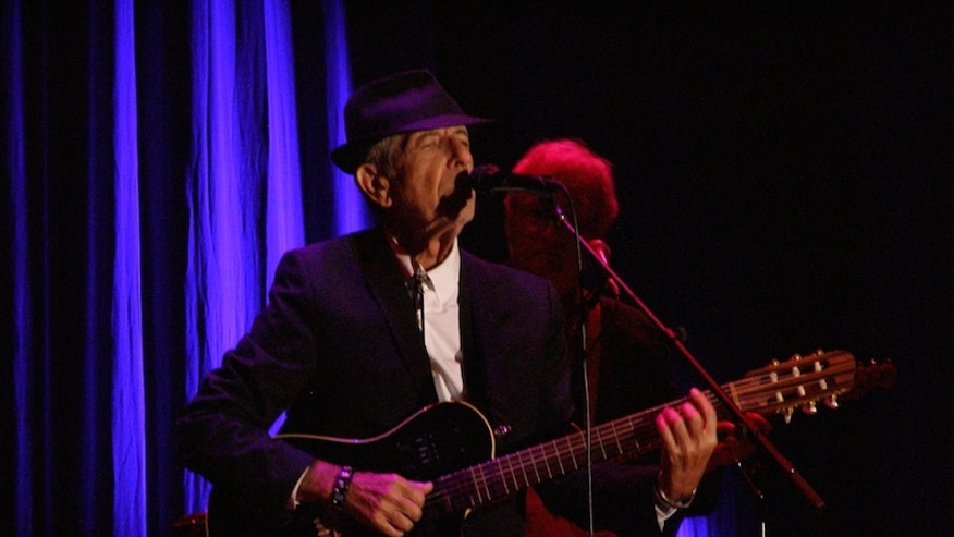 Leonard Cohen, photographed in 2010 in Italy.