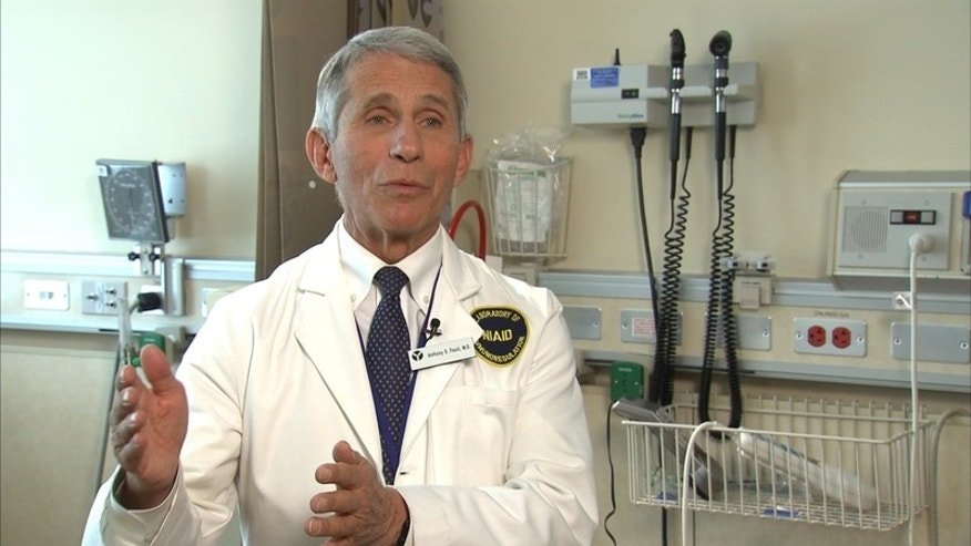 Dr. Anthony Fauci director of the National Institutes of Allergy and Infectious Diseases at the National Institutes of Health in Bethesda