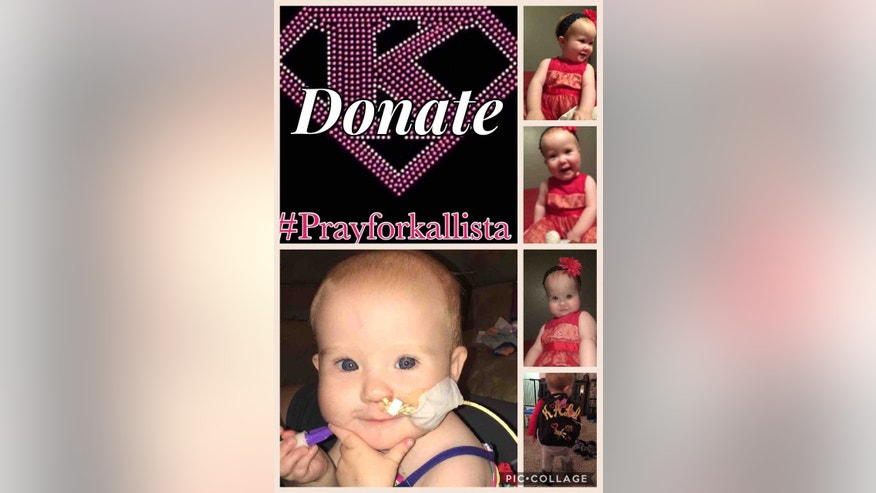Kallista Smith's rare condition prevents her from consuming foods.