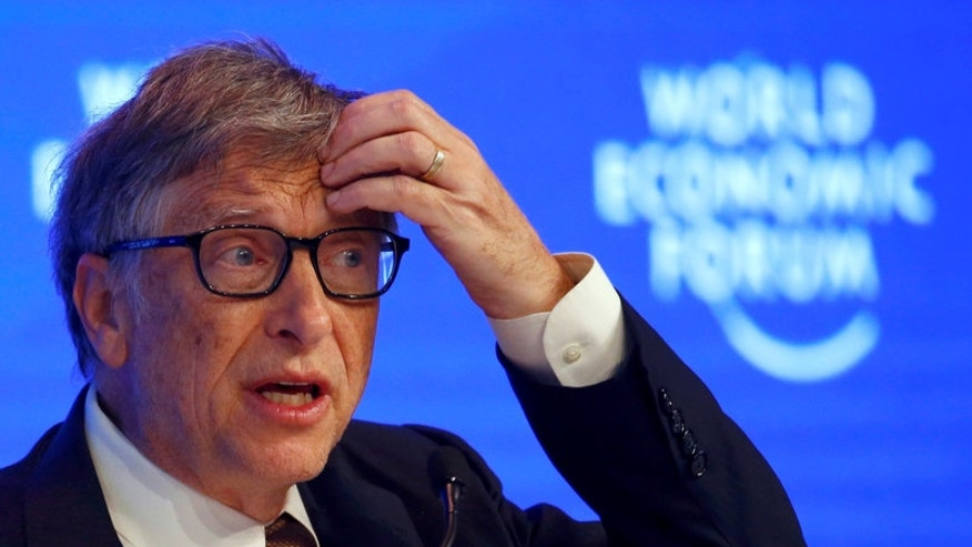 FILE PHOTO: Billionaire philanthropist Gates attends the WEF annual meeting in Davos