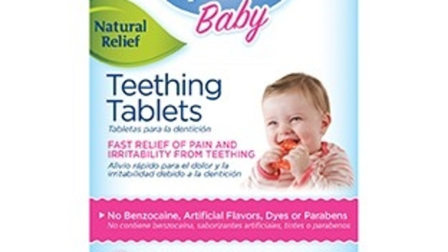 FDA: Throw out teething remedies with belladonna
