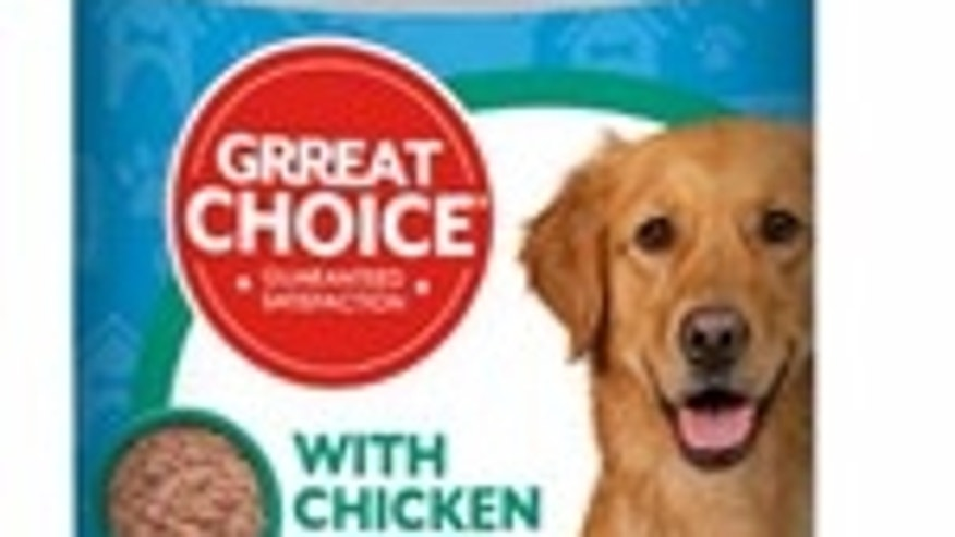 Great Choice Dog Food Recalled, Could Have Metal