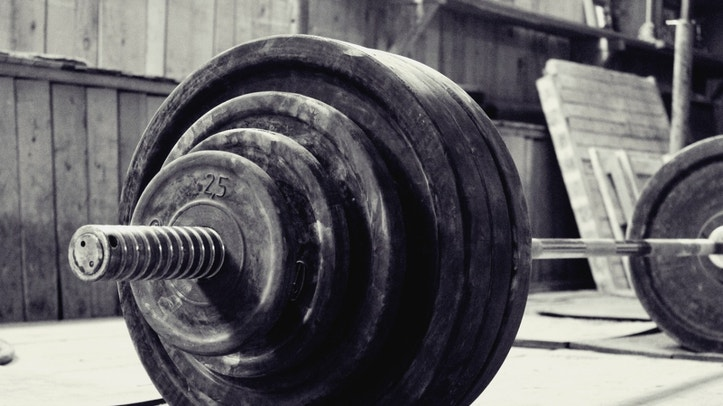 barbell, weightlifting