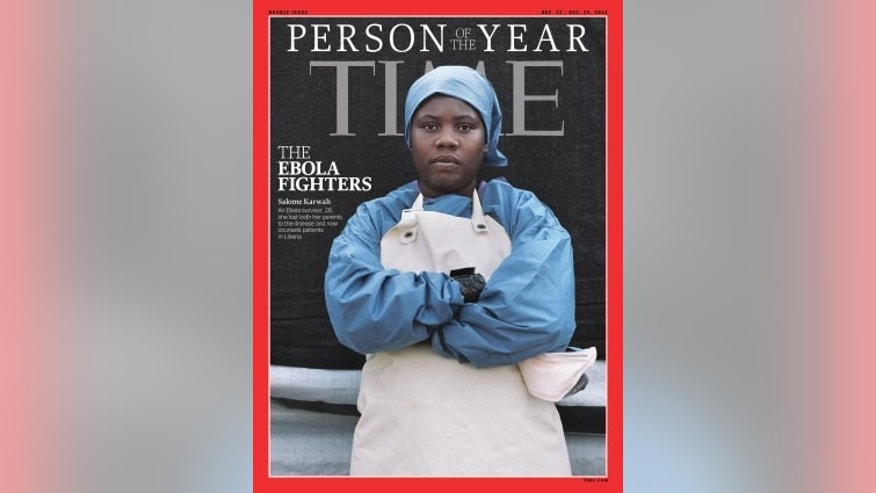 Salome Karwah was among a group of Ebola fighters chosen by TIME Magazine as Person of the Year in 2014.