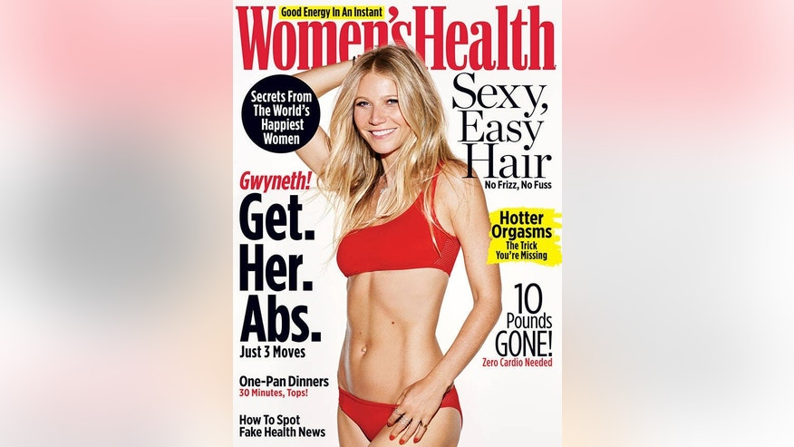 womens health cover gwyneth paltrow