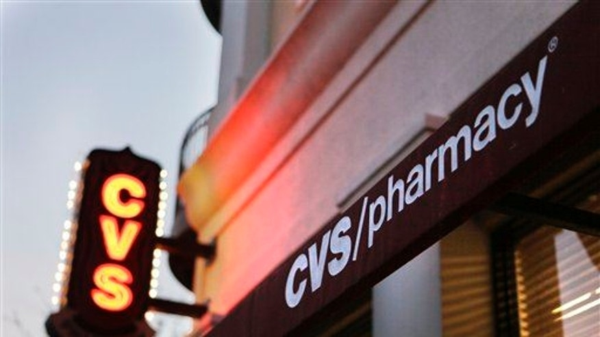A CVS pharmacy is seen in Orlando, Fla., on Feb. 2, 2011.