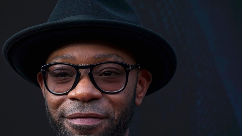 Actor Nelsan Ellis attends the premier of 'Get on Up' in New York.