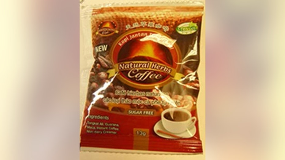 "Bestherbs Coffee LLC has recalled all of its ""New of Kopi Jantan Tradisional Natural Herbs Coffee"" after the Food and Drug Administration found an ingredient similar to one found in Viagra, a drug for men that helps with their erectile dysfunction."