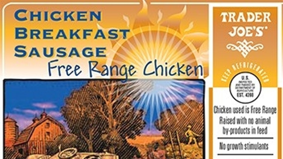 Trader Joe's recalled more than 3,400 pounds of breakfast sausage.