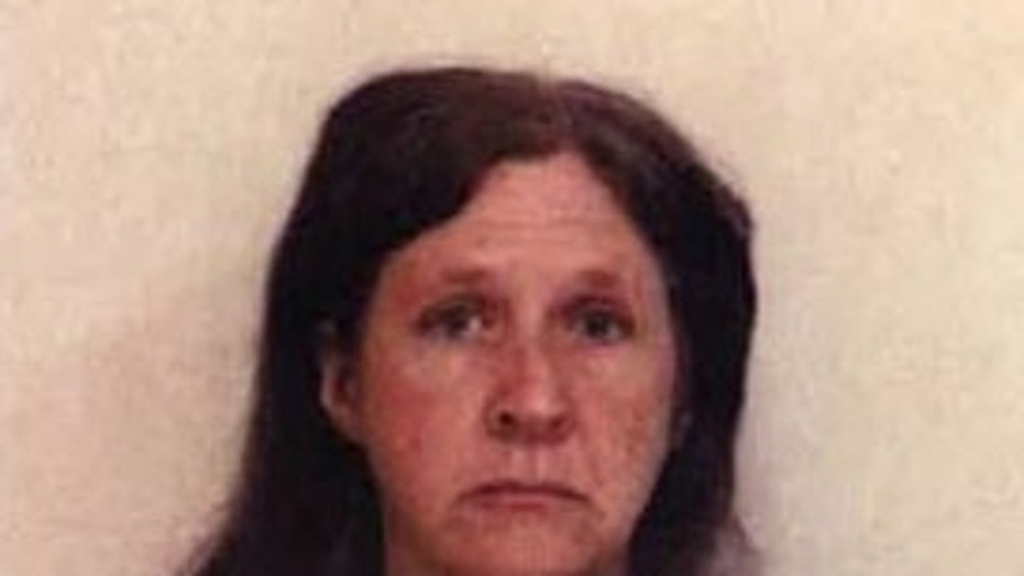 Lori Conley is pictured in her mugshot.