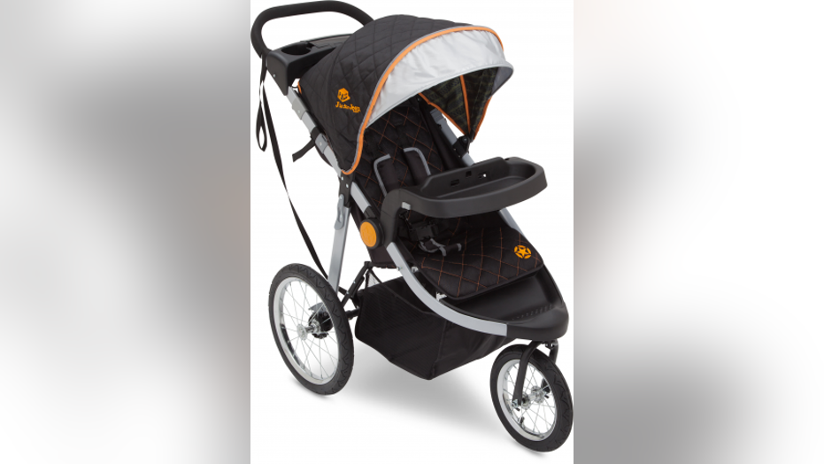 "The recall affects the company's ""J is for Jeep"" brand cross-country all-terrain jogging strollers."