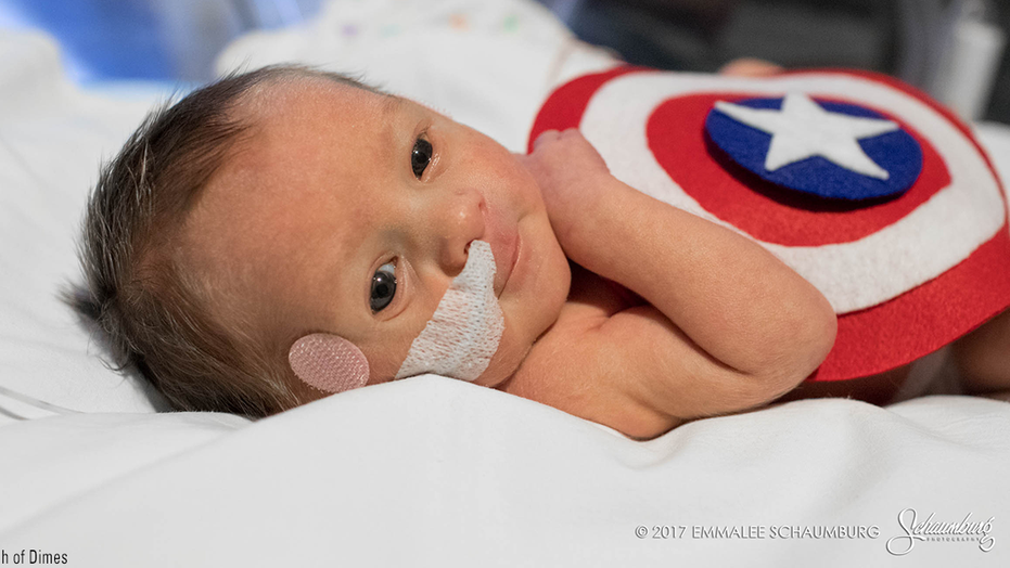 Babies in the NICU at a Kansas City hospital donned tiny, adorable costumes to celebrate Halloween.