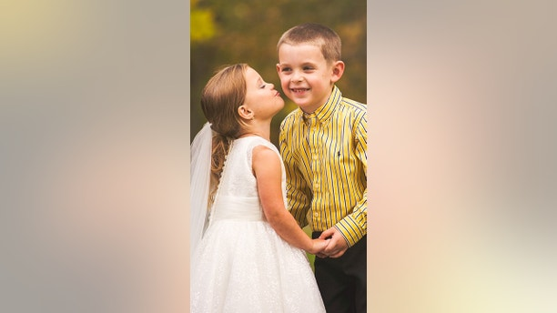 5 Year Old Marries Love Of Her Life Ahead Of Open Heart