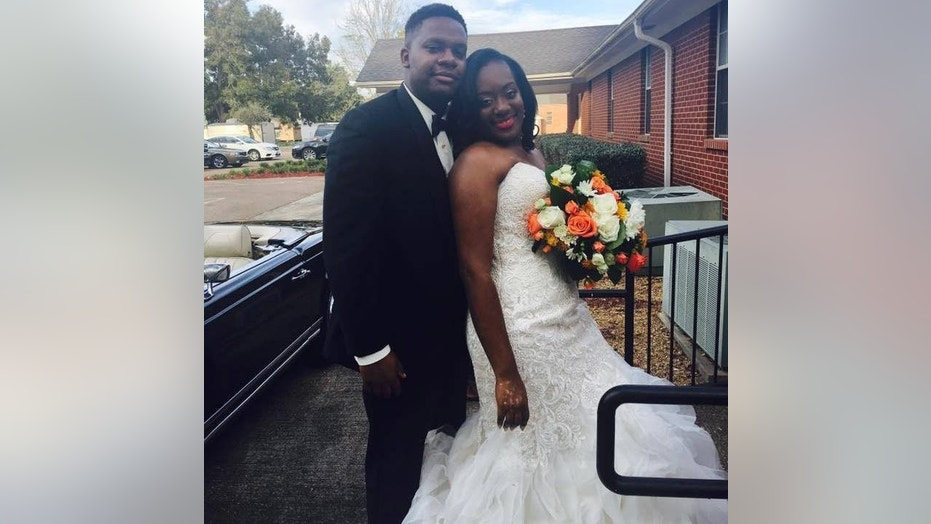 Kandice Benford said she developed vitiligo before her wedding due to an increased amount of stress and anxiety.