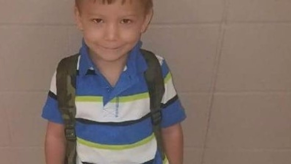 Ryland Ward, 5, does not yet know that his stepmother and two sisters were killed in the Nov. 5 shooting.