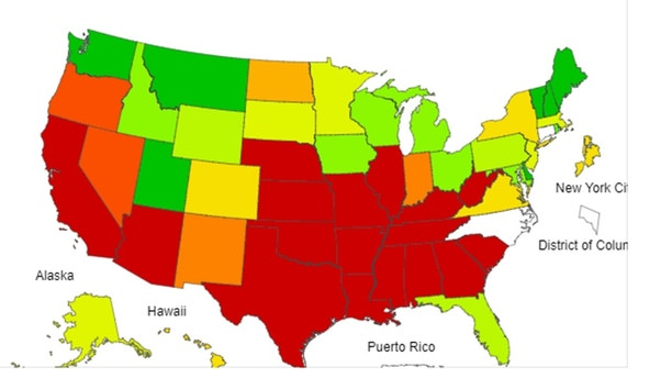 State officials report first child flu death in North Carolina of this season