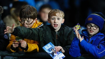 "Britain Football Soccer - Blackburn Rovers v Brighton & Hove Albion - Sky Bet Championship - Ewood Park - 13/12/16 Young fans Mandatory Credit: Action Images / Jason Cairnduff Livepic EDITORIAL USE ONLY. No use with unauthorized audio, video, data, fixture lists, club/league logos or ""live"" services. Online in-match use limited to 45 images, no video emulation. No use in betting, games or single club/league/player publications.  Please contact your account representative for further details. - 14702961"