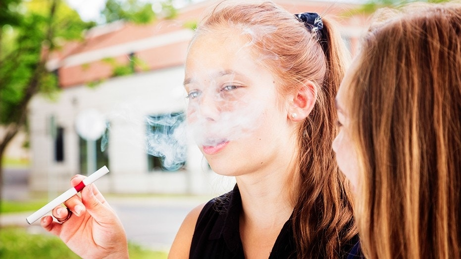 """Adolescents who use e-cigarettes had as much as 3 times more exposure to toxic chemicals to teens who didn't vape according to a new study in """"Pediatrics."""""""