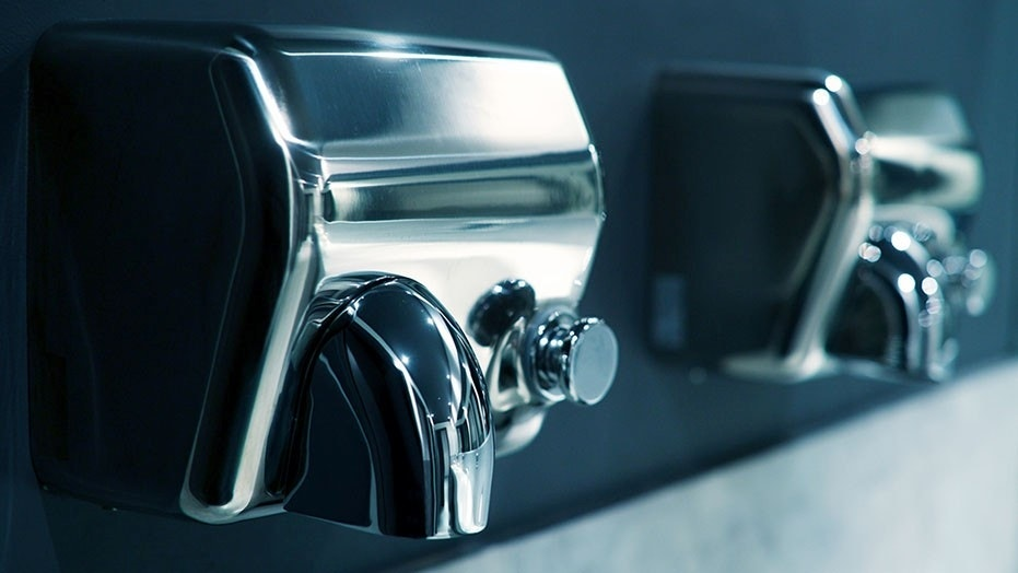 A study found hand dryers blow bacteria, including fecal matter, on to hands.