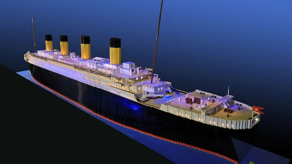 The Titanic replica took 11 months to complete.