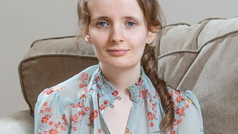 """Caitlin White, 19 has been left emaciated as a result of a rare stomach problem that causes her to be sick more than 30 times a day says she feels """"abandoned"""" by doctors. April 30 2018. See Centre Press story CPSICK; Scotland's top doctor has intervened in the case of a teenager with a rare stomach condition which has left her weighing less than six stone. Caitlin White, 19, suffers from gastroparesis -- a disorder which means her stomach muscles are partially paralysed. It means the teenager, from Perth, throws up more than 30 times a day and survives on soups, gels and powders. She can also spend eight hours a day receiving vitamin and mineral infusions at Perth Royal Infirmary. Her family has been fighting for the past two years to have her referred to an expert outwith NHS Tayside."""