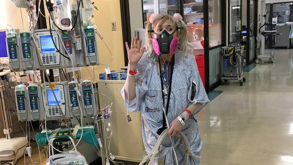 "Violet Gomez received a call six days after she was placed on the transplant waiting list, and said she finally feels ""free"" thanks to her new lungs."