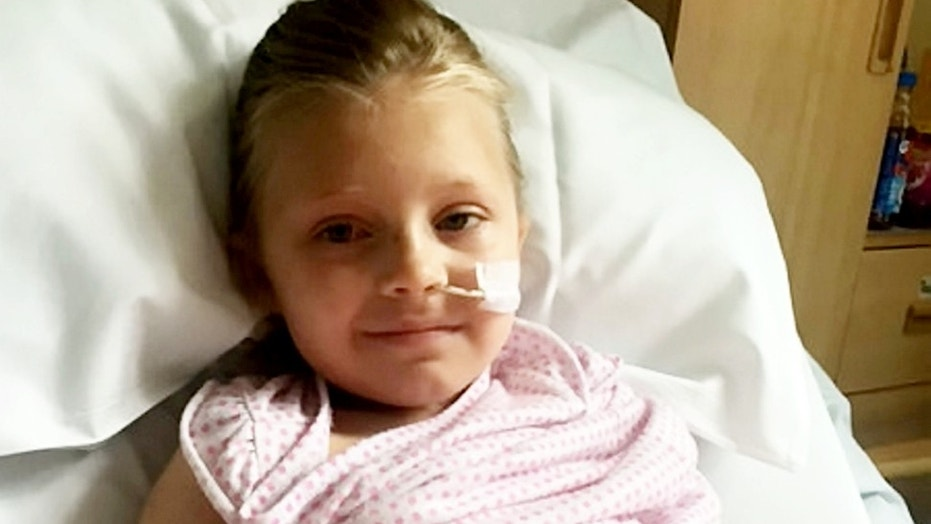 Brogan-Lei Patridge first came down with the illness in June 2016 and had her left foot amputated, but she continues to suffer from symptoms nearly two years later.