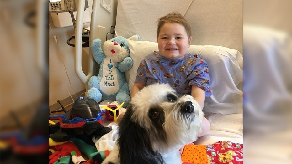 Jaxson Oliphant spent the last 11 months in the hospital battling kidney and lung issues and was on his way home at the time of the fire.