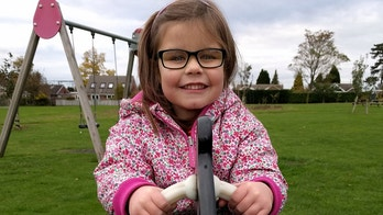 Eva Turner. See SWNS story SWRARE; Fundraising campaign launched for only girl in the world with rare and unknown neurological condition. THE family of a six-year-old with a rare and unknown neurological condition affecting her balance and speech have launched a fundraising campaign to find a cure. Eva Turner, who lives near Wallingford, has difficulty with her balance and speech and struggles to process new information. But despite being behind her peers in terms of development she continues to make progress and enjoys horse-riding, swimming, trampolining, crafts and cooking. Her parents Carla and Adam have launched a '1 in 20,000' fundraising campaign, through their charity Eva's Friends, to raise awareness of rare neurological conditions and work towards a cure.