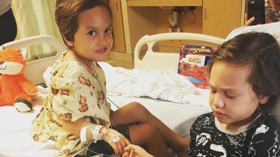 Kalea, 6, was diagnosed with a cancerous brain tumor two weeks before her younger brother received a diagnosis of his own.
