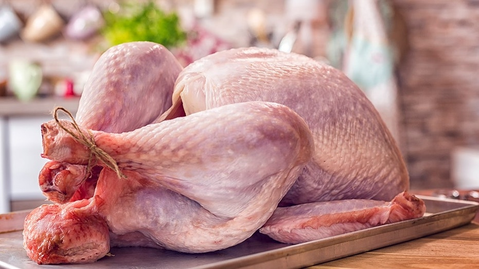 A salmonella outbreak linked to raw turkey has hit 26 states and left at least 40 people hospitalized, health officials said Thursday.