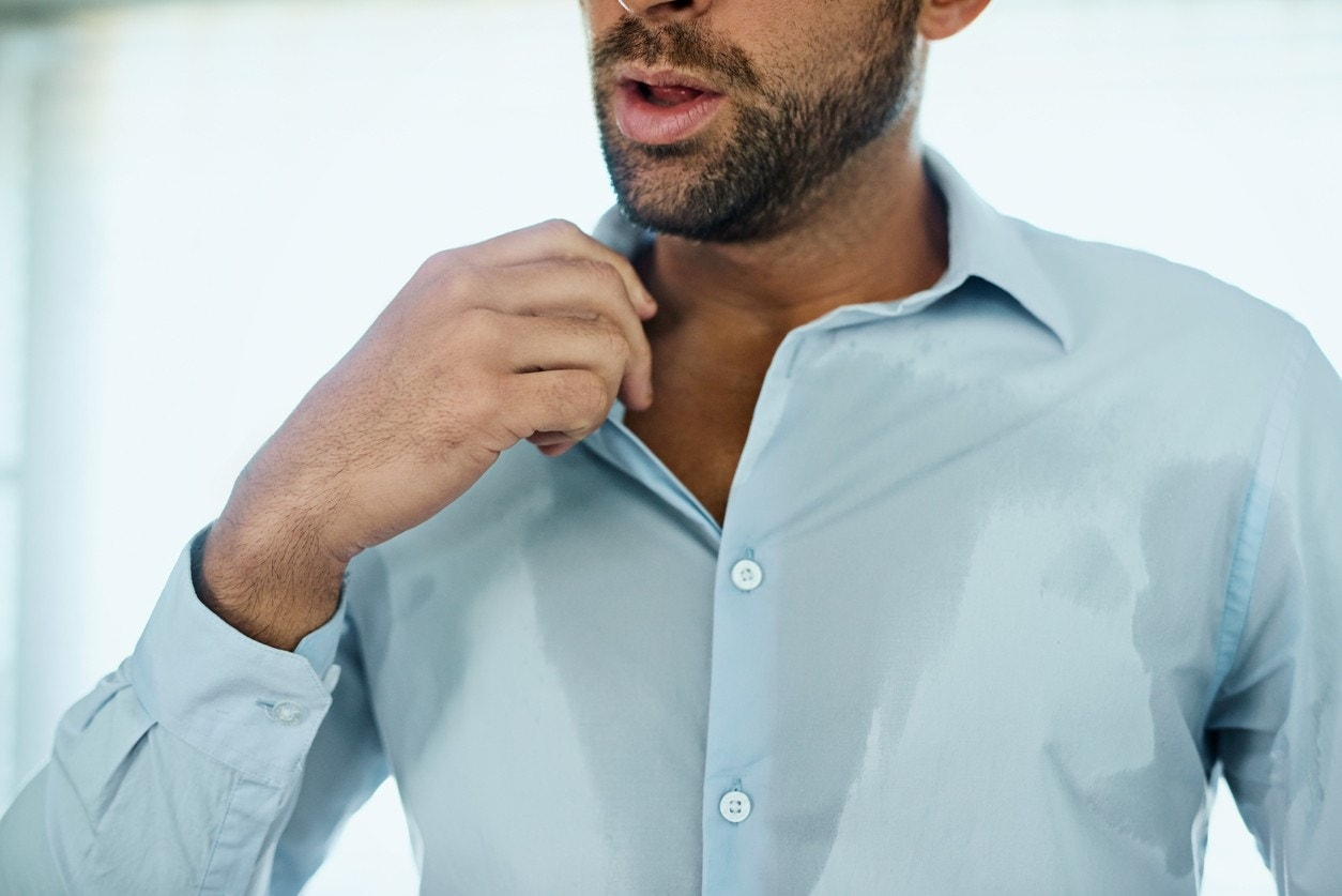 Excessive sweating is real and there's a new drug to treat it