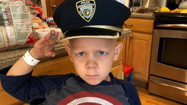 Joshua Salmoiraghi, colorado boy, 4, battling cancer named honorary police officer
