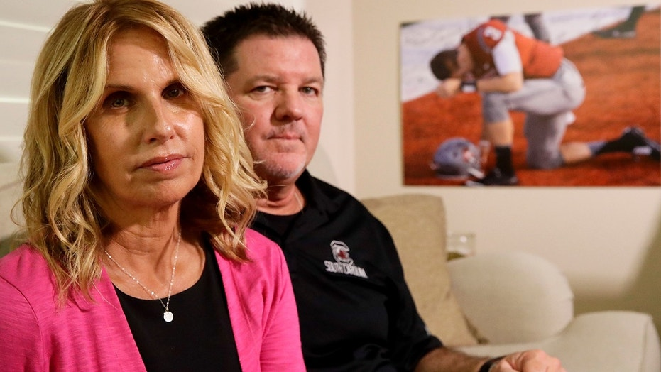 Mark and Kym Hilinski have become advocates for greater awareness of mental health issues among student-athletes after their son's suicide.