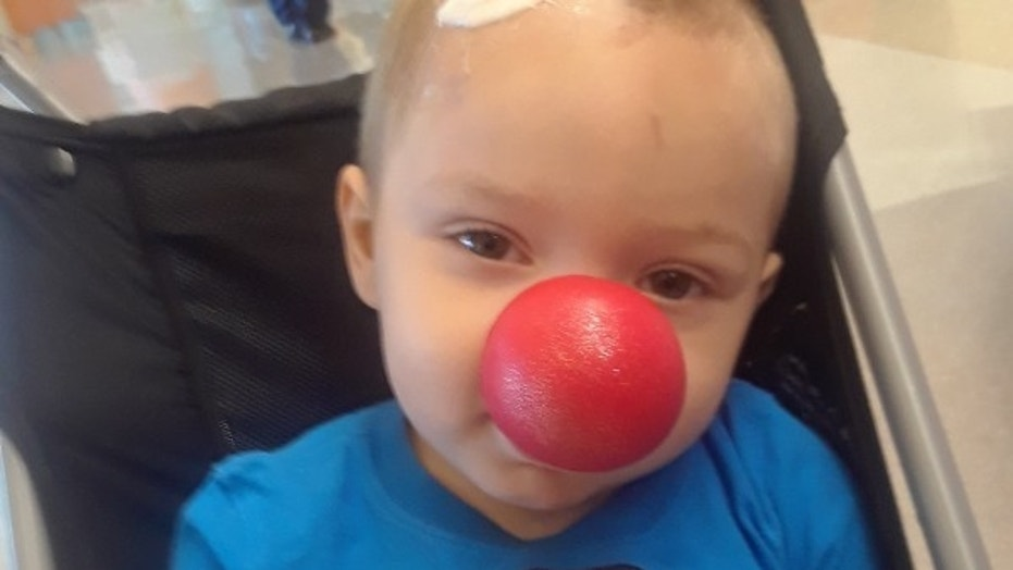 Brody Allen, 2, was diagnosed with an aggressive brain cancer in May and stopped treatments in August after the tumors continued to grow.