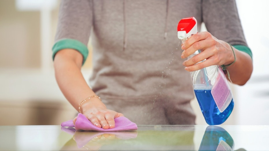 Using household disinfectants could be making your kids fat