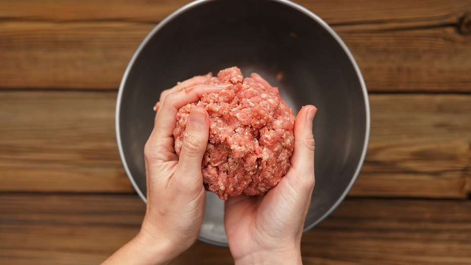 """Raw ground beef was the probable source of the reported illness,"" the FSIS said."
